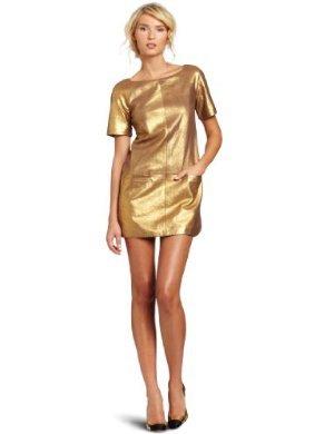 Rebecca Minkoff <br/> Leather Rick Dress