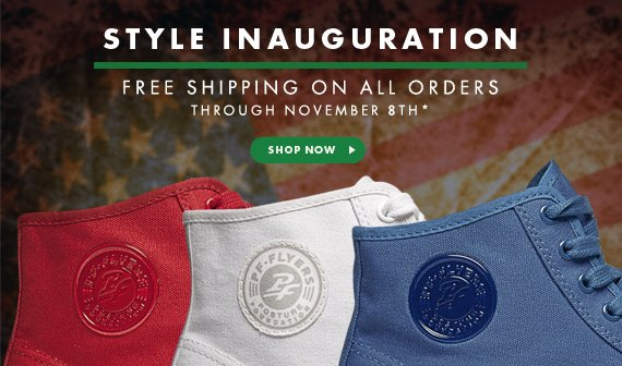 Style Inauguration - Free Shipping on All Orders through Nov 8th