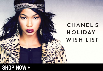 Chanel Iman's Holiday Wish List - Shop Now