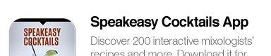 Speakeasy Cocktails App