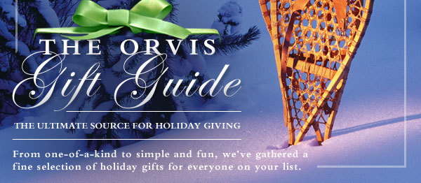 From one-of-a-kind to simple and fun, we've gathered a fine selection of holiday gifts for everyone on your list.