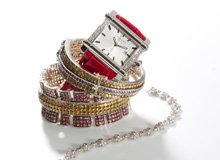 Luxe Arm Candy Stackable Bracelets & Watches