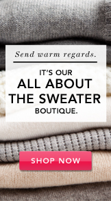The Sweater Boutique. Shop Now.