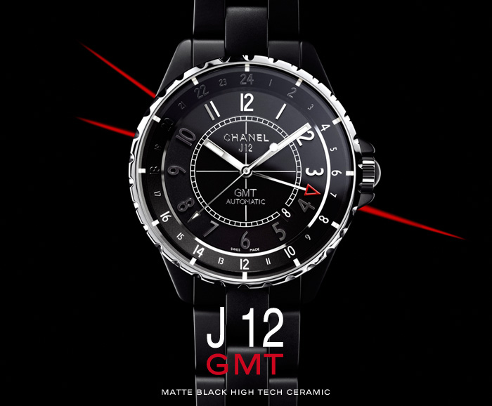 J12 GMT MATTE BLACK HIGH TECH CERAMIC