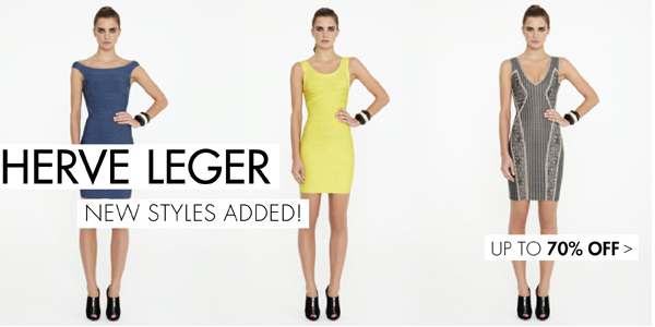 Herve Leger Up to 70% off