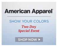 Shop American Apparel