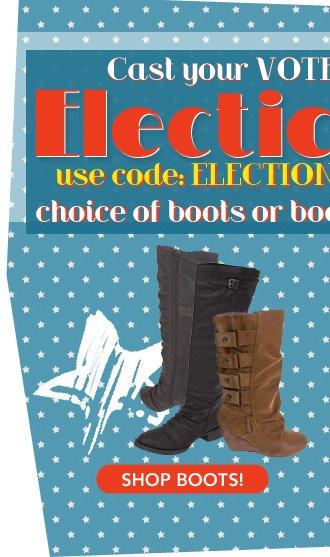 Vote Boots!