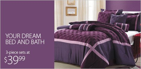 Your Dream Bed & Bath