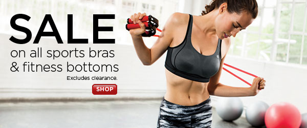SHOP sports bras & fit bottoms SALE