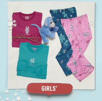 Shop Life is good Girls' Sleepwear