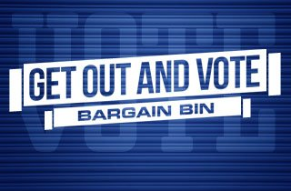 Get Out and Vote Bargain Bin