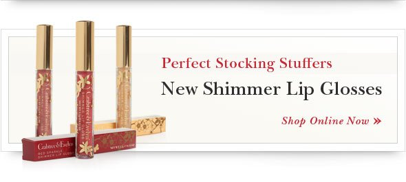 New Shimmer Lip Glosses. Shop Online.