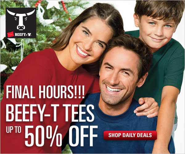 Up to 1/2 off Beefy-T tees