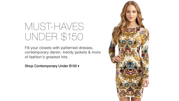 Must-Haves Under $150