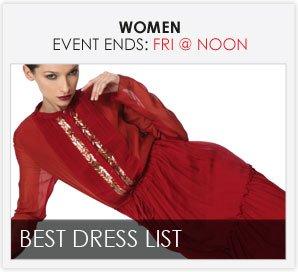 BEST DRESS LIST - Women