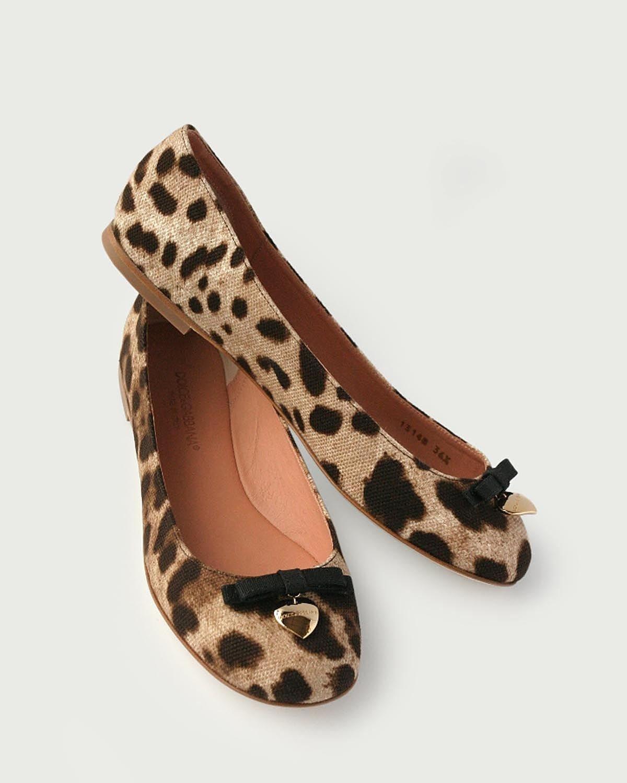 Dolce & Gabbana Leopard Print Flats $205