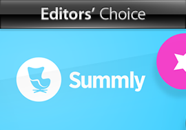 Editors' Choice: Summly - App