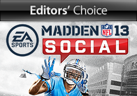 Editors' Choice: Madden NFL 13 Social - Game