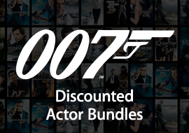 James Bond Collection - Discounted Actor Bundles