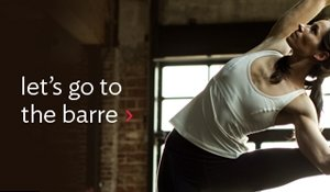 lets go to the barre