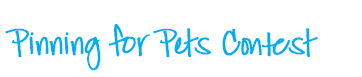 Pinning for Pets Contest