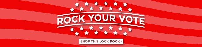 Shop Vote Look Book