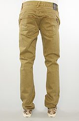 The Counterpoint Slim Straight Fit Pants in Dark Khaki