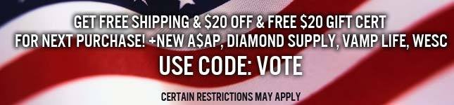 Free Shipping and $20 off