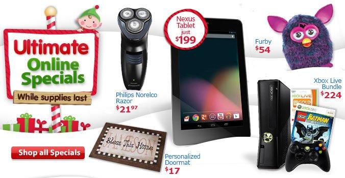 Shop Ultimate Online Specials
