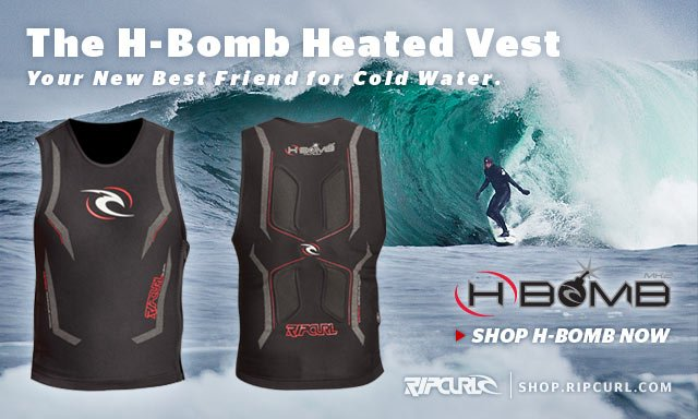 The H-Bomb Heated Vest - Your New Best Friend for Cold Water