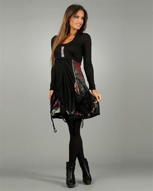 Un Coeur En Ete Adriana Bubble Dress With Two Front Pockets $59
