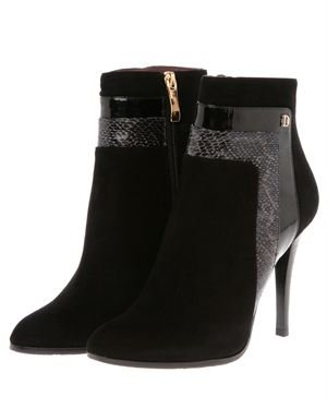 StyleMax Suede Leather Ankle Boots Made in France $135