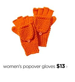 women's popover gloves $13›