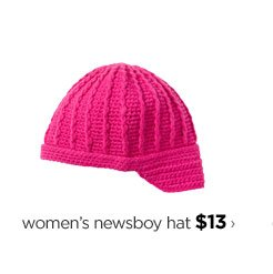 women's newsboy hat $13›