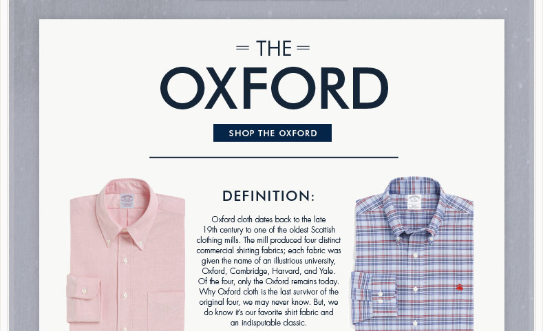 SHOP THE OXFORD