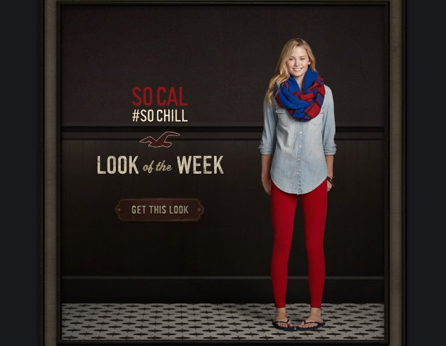 LOOK OF THE WEEK GET THIS LOOK