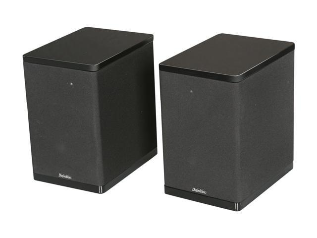 Definitive Technology StudioMonitor 450 Bookshelf Speaker (Black) Pair