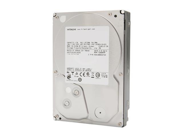 Hitachi GST Deskstar 7K1000.C 0F10383 1TB 7200 RPM 32MB Cache SATA 3.0Gb/s 3.5 Inch Internal Hard Drive -Bare Drive