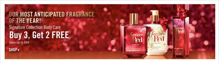 Forever Red - Buy 3, Get 2 Free!