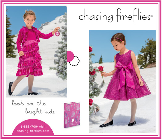 hot pink christmas