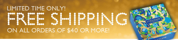 Limited Time Only!  Free Shipping on all orders of $40 or more!