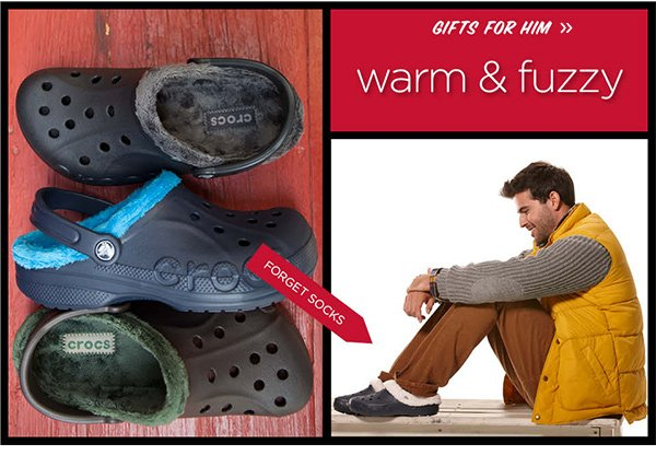 Gifts For Him - warm & fuzzy