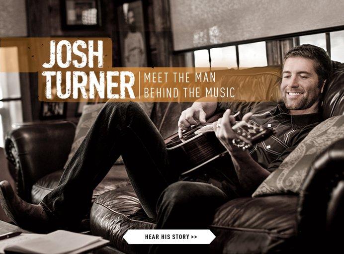 Josh Turner: Meet the man behind the music.