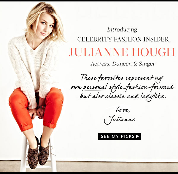 Introducing Julianne Hough!