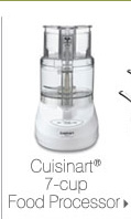 Cuisinart® 7-cup Food Processor.