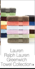 Lauren Ralph Lauren Greenwich Towel Collection.