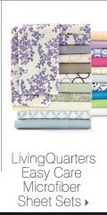 LivingQuarters Easy Care Microfiber Sheet Sets.