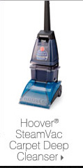 Hoover® SteamVac Carpet Deep Cleanser.