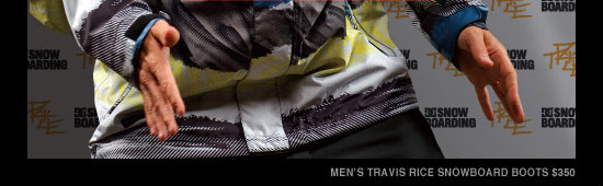 Men's Travis Rice Snowboard Boots $350
