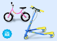 For Little Speedsters Learn-to-Ride Balance Bikes